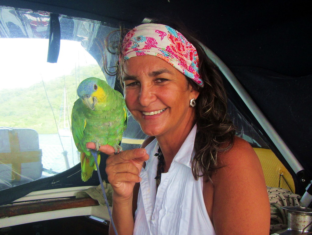 Sandra mit Loro