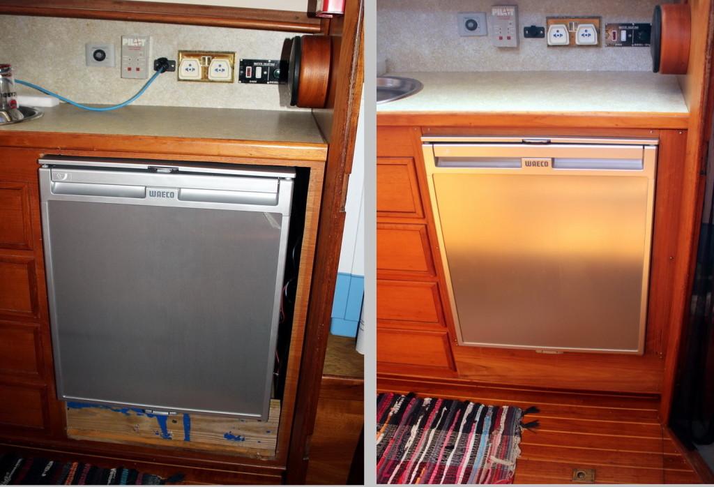 Kühlschrank Montage