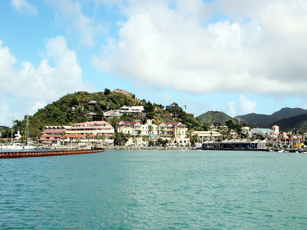 St. Martin, Marigot Bay 008