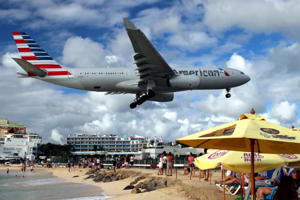 Flugzeug Landungen (2)