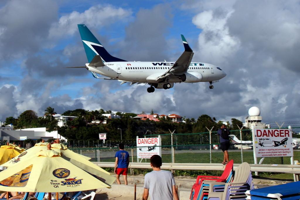 Flugzeug Landungen (4)